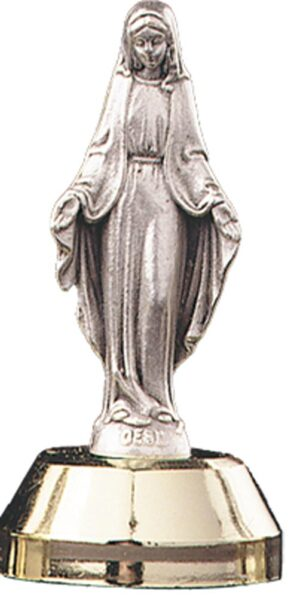 Mini Statue With Magnetic Base - Mary